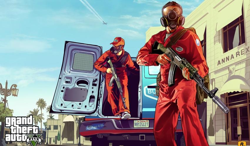 تحميل لعبة GTA V للاندرويد من ميديا فاير